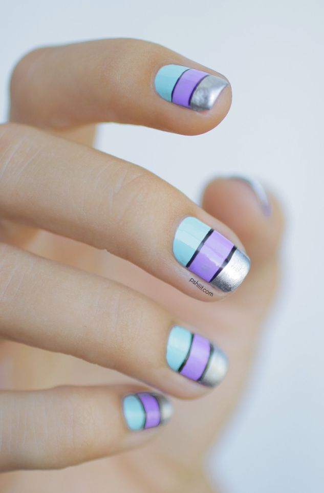 Tri-tone Nails