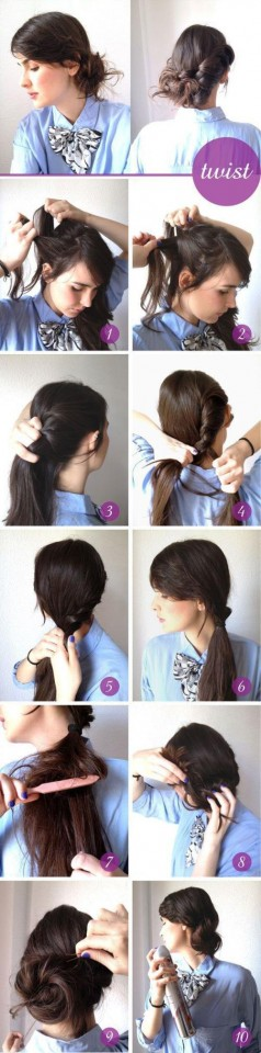 Twist Hairstyle Tutorial