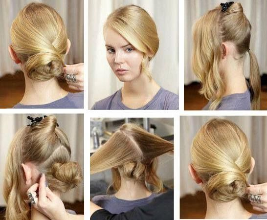 Swell 15 Simple And Easy Hairstyles With Useful Tutorials Pretty Designs Short Hairstyles Gunalazisus