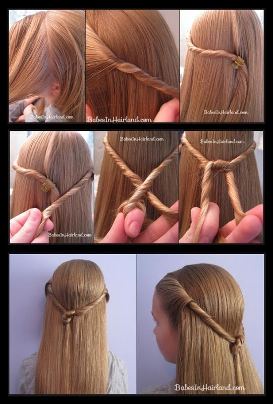 Twisted Knot Hairstyle Tutorial