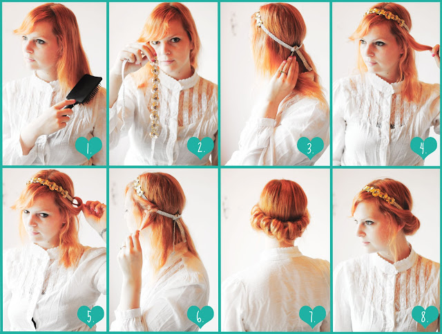 17 Vintage Hairstyles With Tutorials for You to Try | Pretty Designs - 1600 x 762 jpeg 150kB