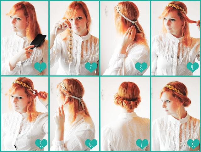 Vintage Hairdo Tutorial