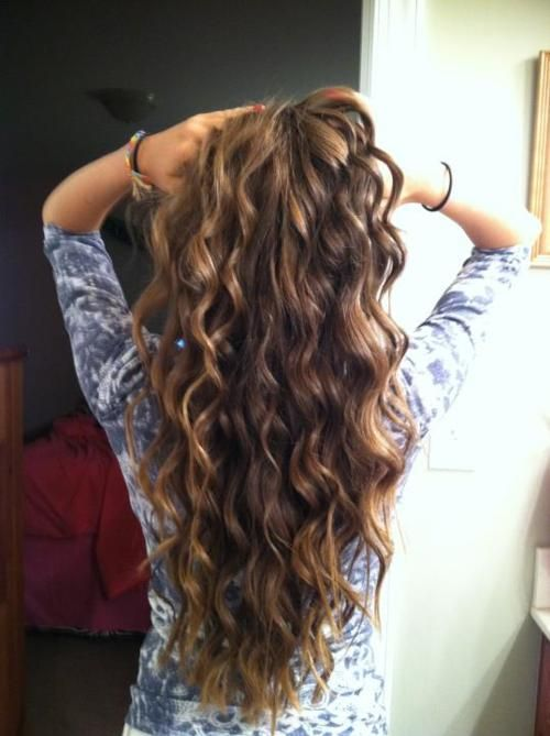 Curly Hairstyle To Have Beach Waves Tutorials Pretty