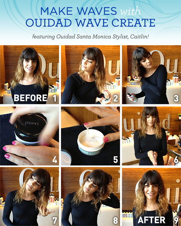 Waves for Ombre Hair