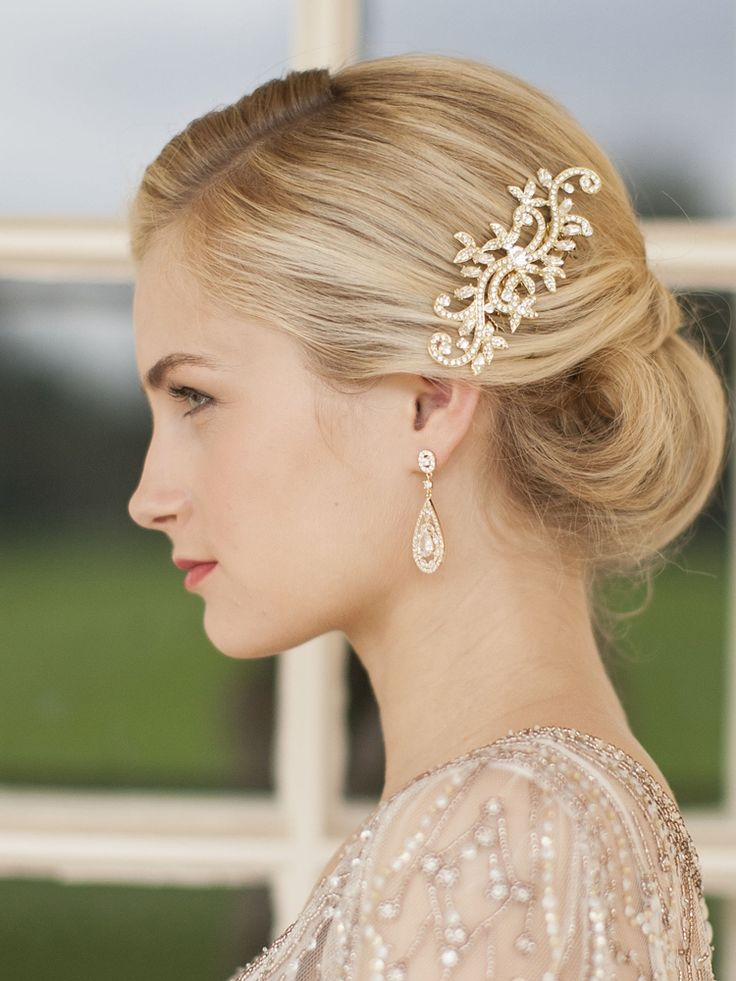 Pretty Wedding Hairstyles with Accessories - Pretty Designs
