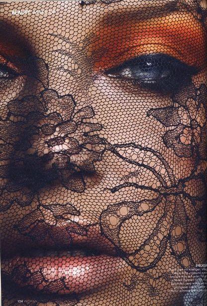 Sexy Orange Eye Makeup Look