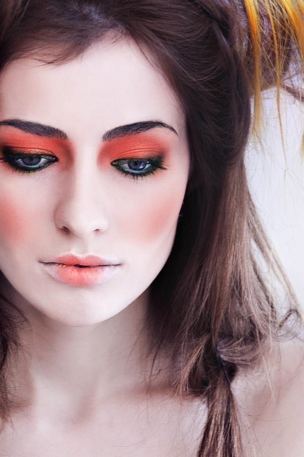 Orange Eye Makeup Ideas