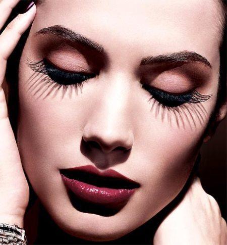 Orange Eyeshadow for Night Makeup Ideas via