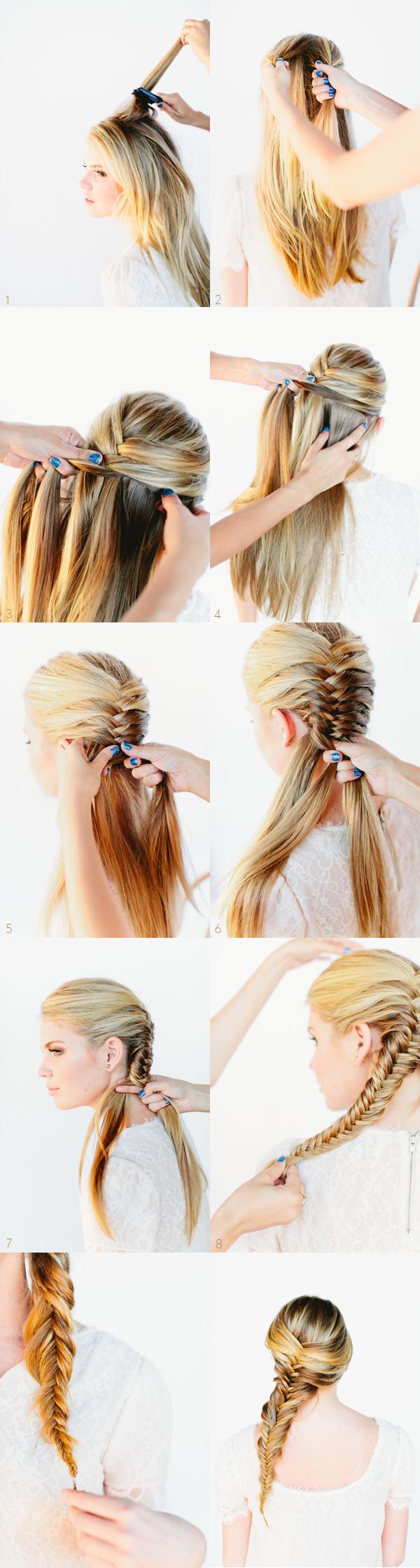 16. FISHTAIL BRAID HAIR