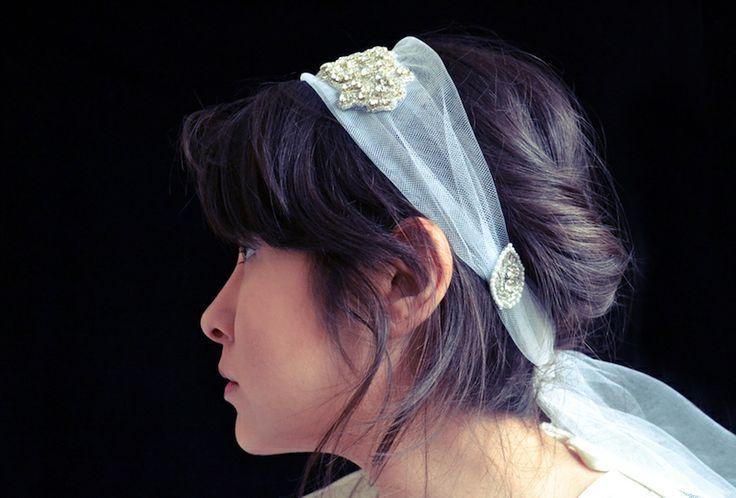 1930s Inspired Bridal Headband