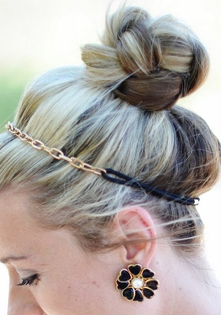 22. Braided Top Knot