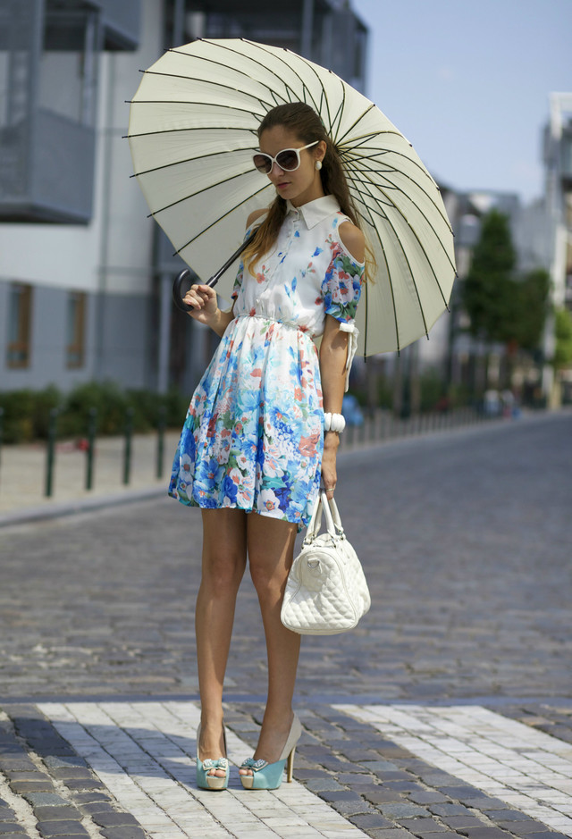 Adorable Floral Short Dresses for Spring 2014