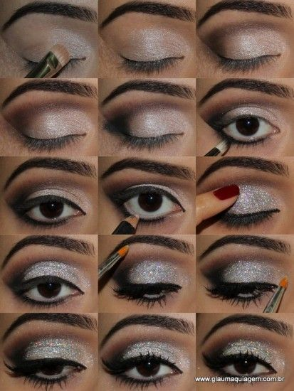 Top 10 Amazing Black Eye Makeup Tutorials Pretty Designs