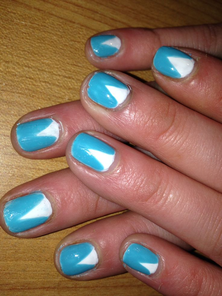 20 Color Block Nail Designs for Beginners - Pretty Designs