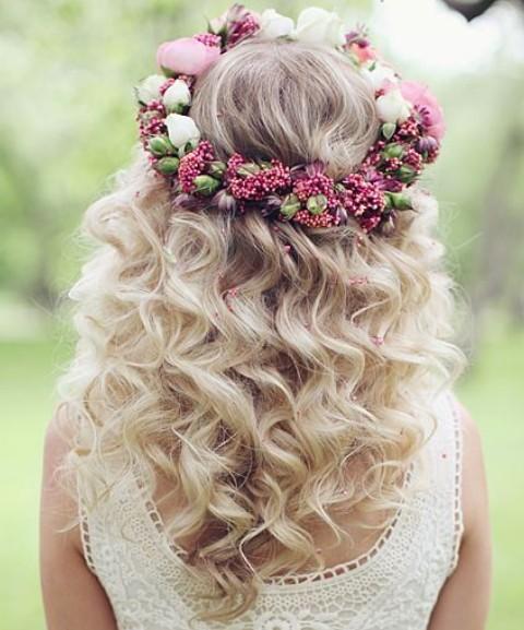 Bohemian Bridal Hair