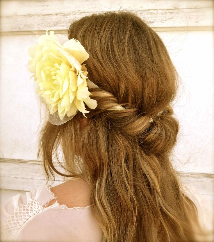 Boho Twist Hairstyle with a Headband