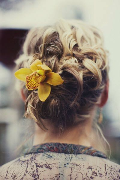 Boho Twist with a Flower
