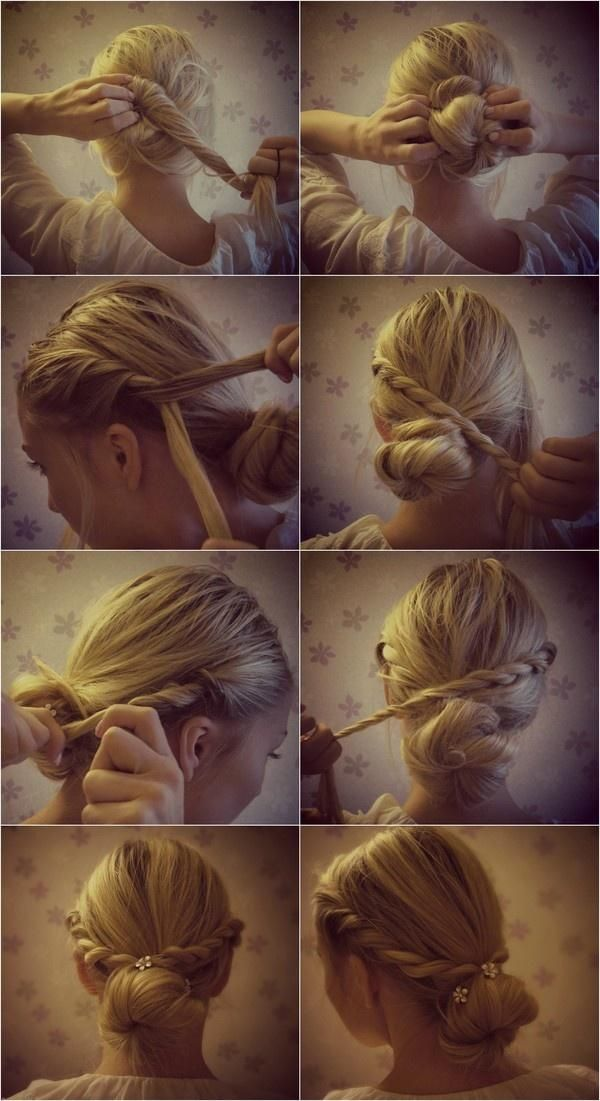Boho Twisted Hairstyle Tutorial