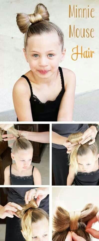 Bow Hairstyle Tutorial