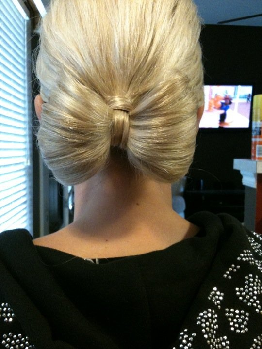 Bow Hairstyle for Wedding
