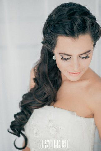 Braided Side-swept Hairstyle