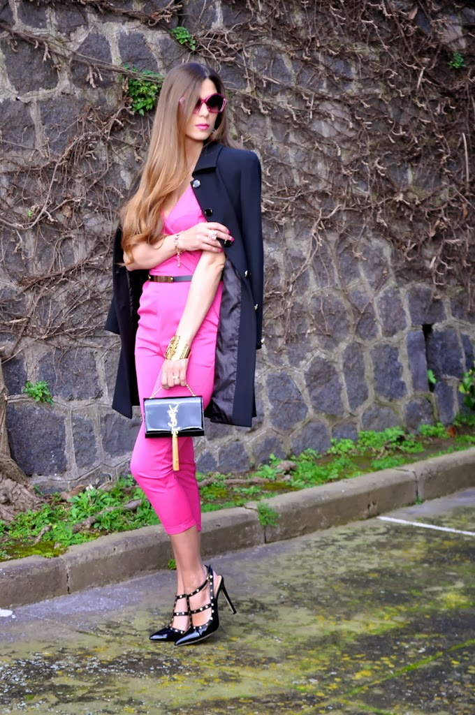 Bright Pink Jumpsuit for Women