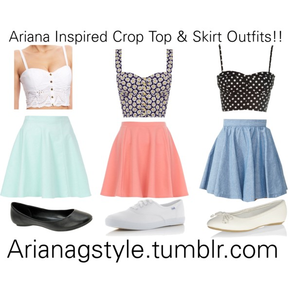 Summer Outfit Ideas With Crop Tops Pretty Designs