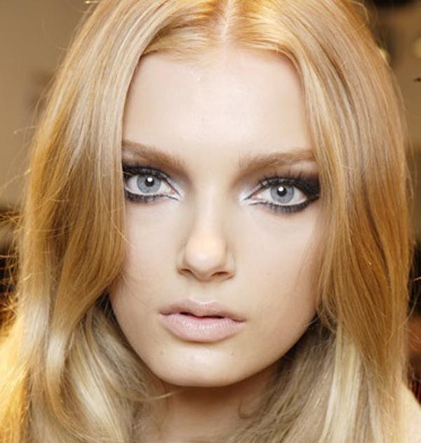 Цвет волос для серых зеленых глаз и светлой кожи