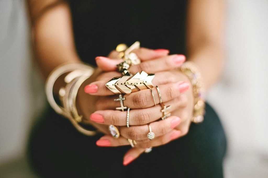 Rock the Stylish Multiple Rings - Pretty Designs