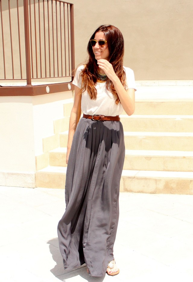 2014 Fashionable Outfit Ideas With Trendy Loose Pants For