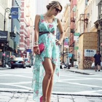 Chiffon Short Dresses for Spring 2014