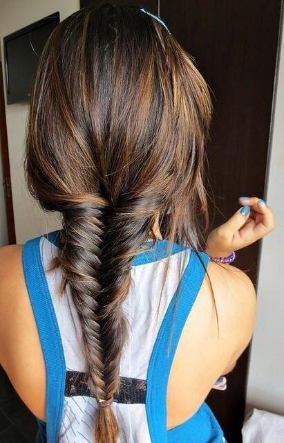 Classic Fishtail Braid