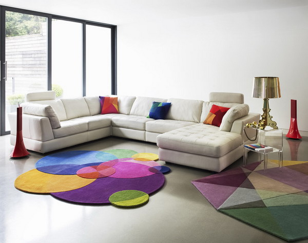 How to upgrade your living room colorful carpets pretty for Living room upgrades