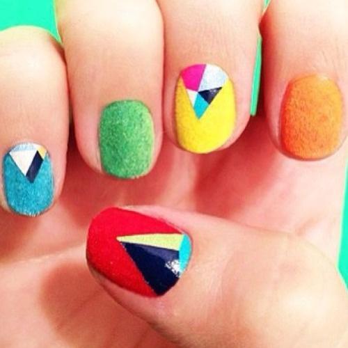 Cool Velvet Nails