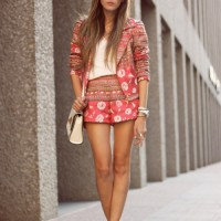 Coral Outfit Ideas - Coral Suit