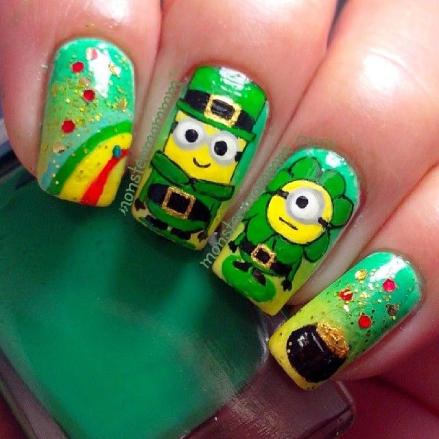 Nails to Try: Cartoon Nail Ideas - Pretty Designs