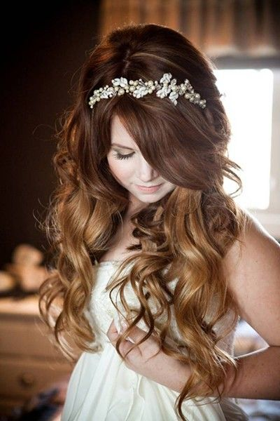 Curls with Headband