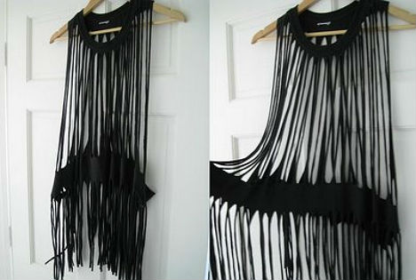 diy projects to try make your own fringe t shirt pretty designs