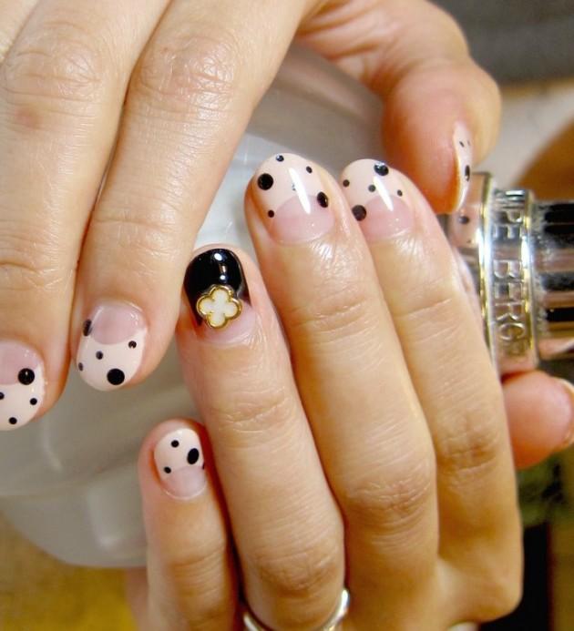 Cute Embellished Nails
