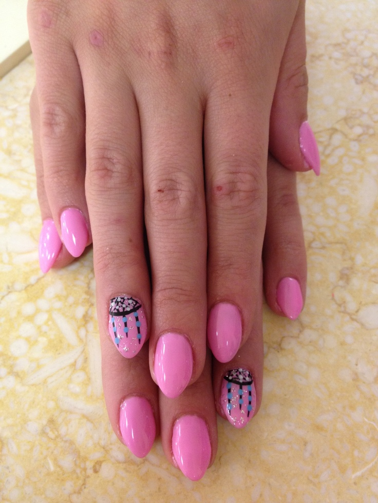 Cute Pink Nails - Pink Stiletto Nail Designs To Adore - Pretty Designs