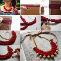 DIY Braided Necklace Tutorial