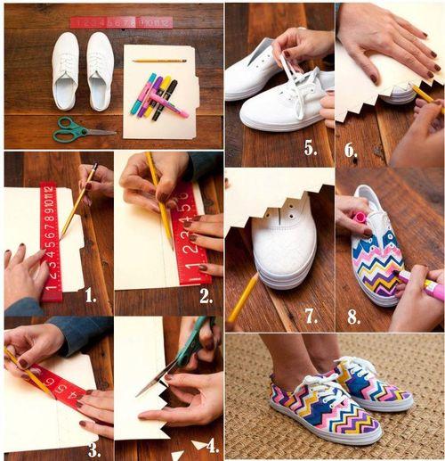 DIY Fashion Sneakers