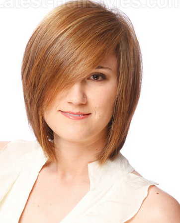 Deep Side-parted Long Bob Hairstyle