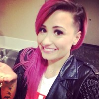 Demi Lovato's Wild Bubble Gum Pink Hair