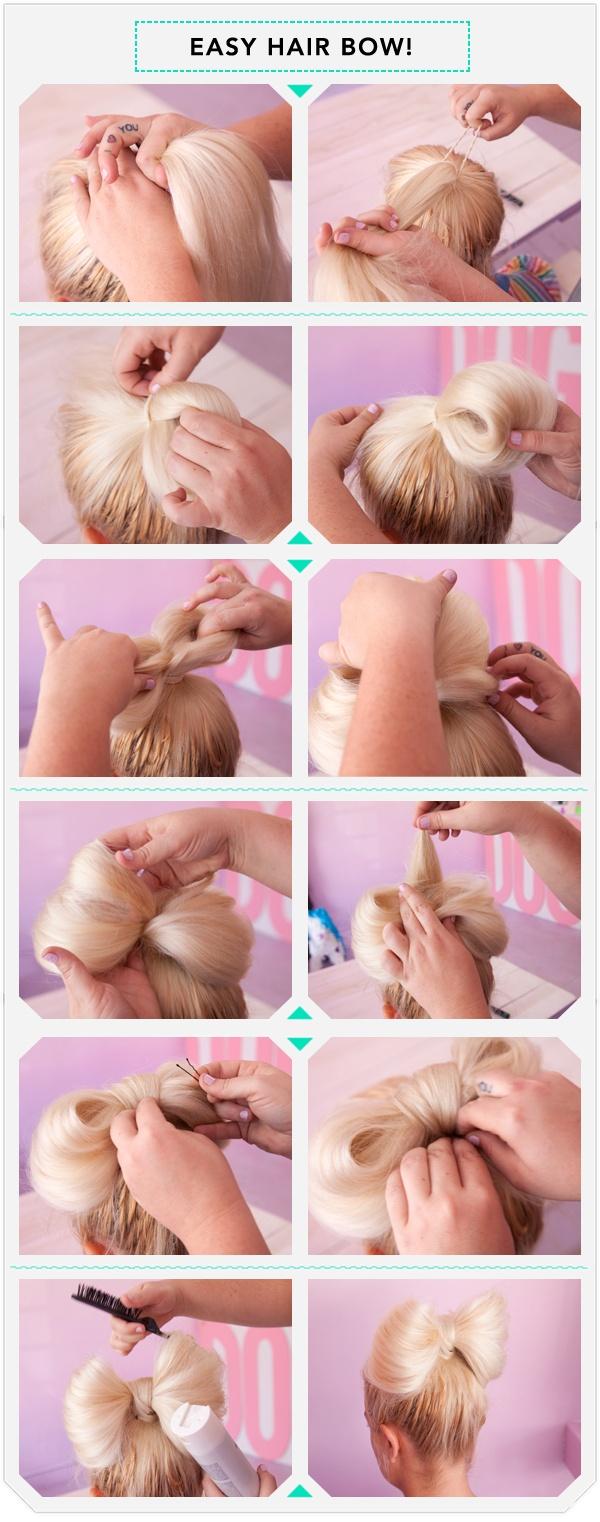 Easy Hair Bow Tutorial