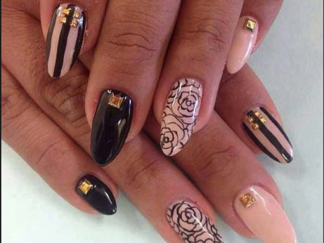 Embellished Nails for Classy Nail Designs