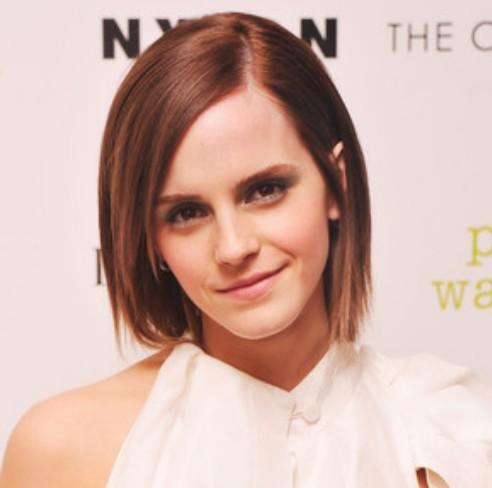 Emma Watson Straight Bob