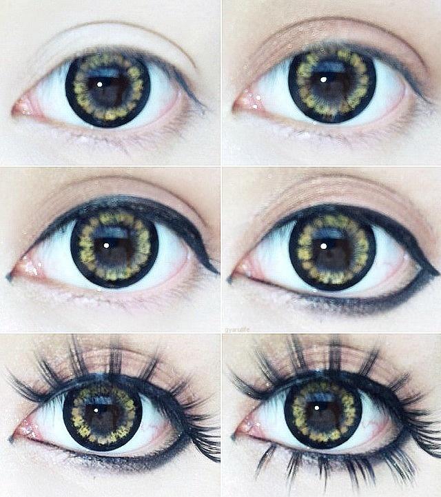 Eyeliner Makeup Tutorial for Rounder Eyes