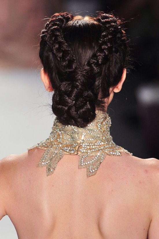 Fashionable Crown Braid