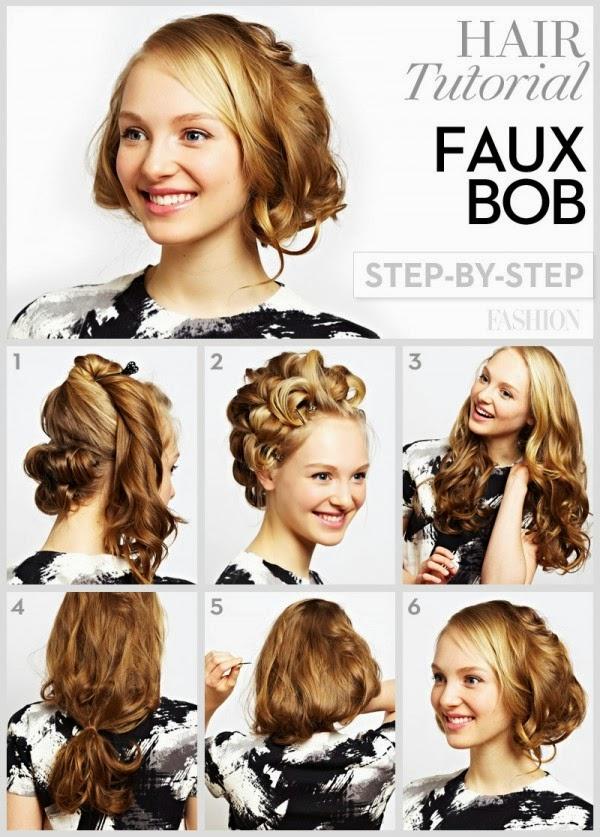 Awe Inspiring Easy Hairstyles For Short Curly Hair Step By Short Hair Fashions Short Hairstyles For Black Women Fulllsitofus